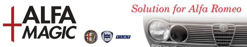 ALFAMAGIC:イタリア車の部品を扱う会社です