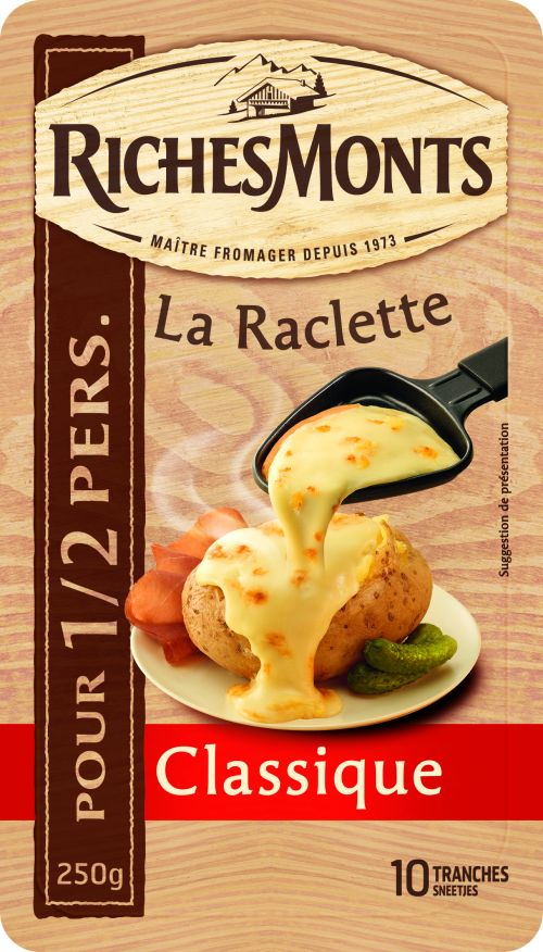 Slices of raclette 4 set & barbeclette 2015 winter gift