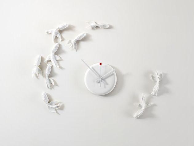 Goldfish Clock Haoshi Design【時計】