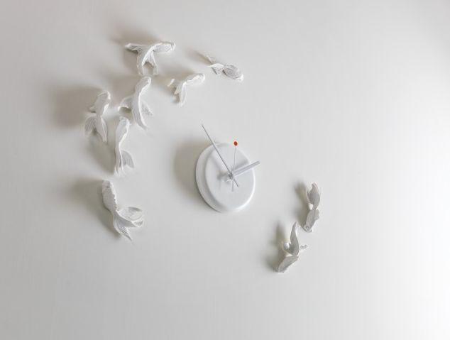 Alfa Vitaonlineshop Goldfish Clock Haoshi Design