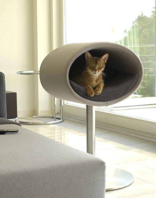 クッション 猫用ベッド ドイツ ペット用家具 フェルト地 カバー ペット用ベッド クラフトマンシップ 高級 最高級 ウォッシャブル 猫ベッド stand Rond ベッド ハンドメイド 家具 猫用家具