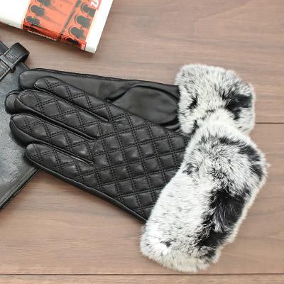 上品な質感のラム革の手袋 レッキスファー付き 1033-f スマホ対応手袋 スマホ手袋 スマートフォン対応 スマホ 手袋 グローブ 待望 ラム革 シープ 革 かわいい レディース 毎日激安特売で 営業中です レザー