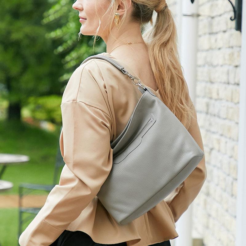 |1376 アンジェリーナボックス Sサイズレザー製 革製 日本製 レディース バッグ 軽量 2WAY仕様