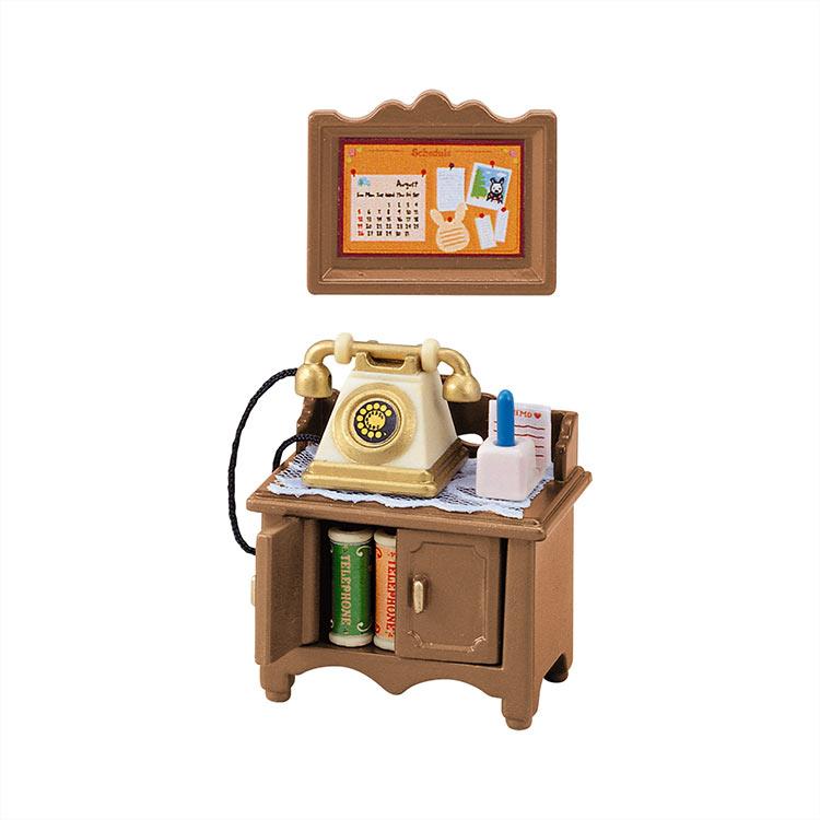 【あす楽】 おもちゃ カ-501 シルバニアファミリー 電話台セット[CP-SF] 誕生日 プレゼント 子供 女の子 3歳 4歳 5歳 6歳 ギフト お人形 シルバニア