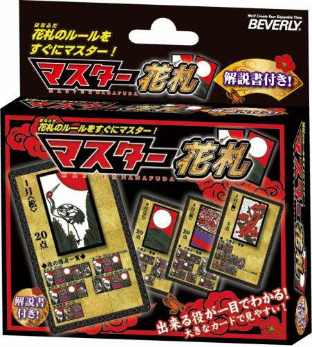 おもちゃ 新着セール 値引き BEV-TRA-038 カードゲーム マスター花札