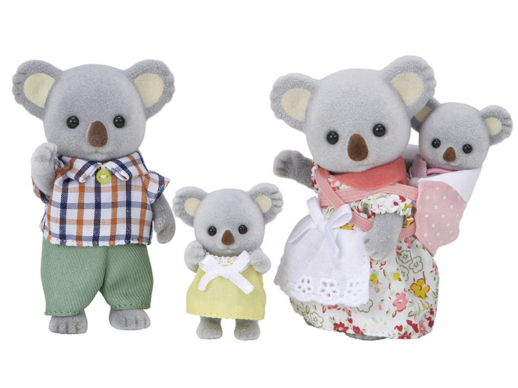 おもちゃ FS-15 シルバニアファミリー コアラファミリー [CP-SF] 誕生日 プレゼント 子供 女の子 3歳 4歳 5歳 6歳 ギフト お人形 シルバニア