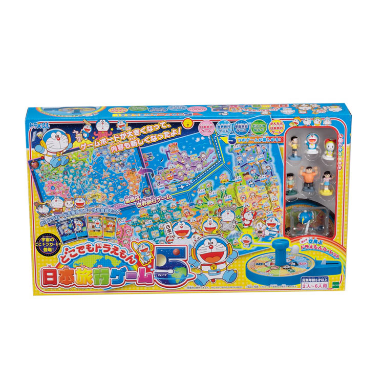 あす楽 おもちゃ 新登場 EPT-08414 ドラえもん 特価品コーナー☆ どこでもドラえもん 日本旅行ゲーム5 誕生日 男の子 ギフト 子供 女の子 プレゼント