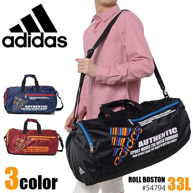 adidas アディダス ボストンバッグ あす楽対応 レトロな色使いがポイント 軽量で普段使いにお勧め ACE ロールボストン 1-45794 ショルダーバッグ 情熱セール レディース 流行のアイテム エース メンズ
