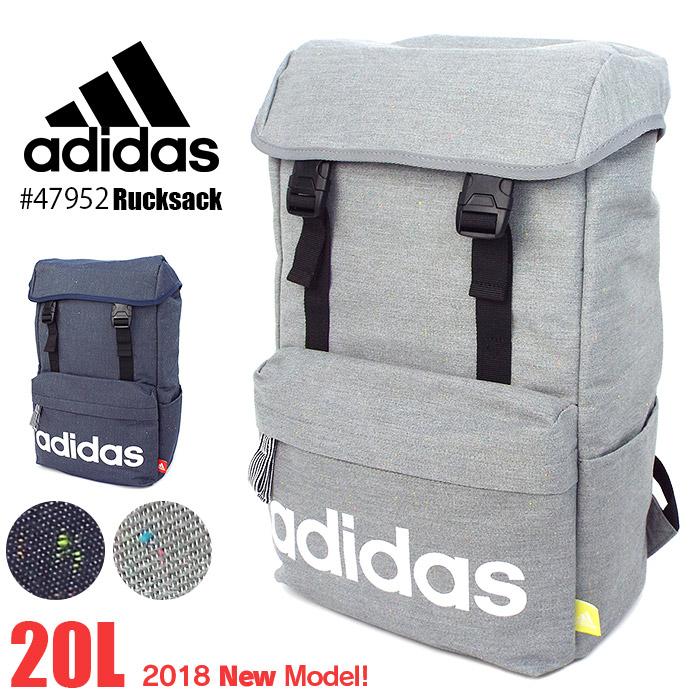 アディダス リュックサック adidas スクールバッグ リュック 20L 大容量 メンズ レディース 通学 高校生 修学旅行 1-47952