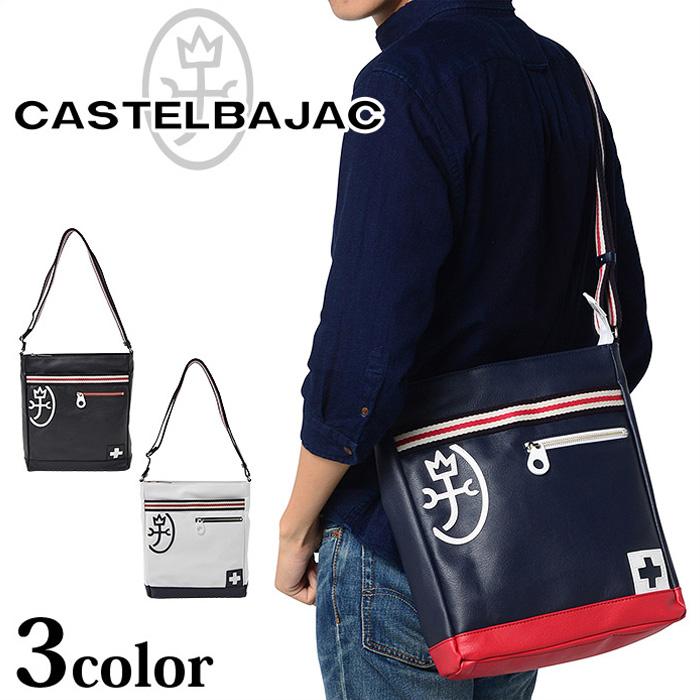 CASTELBAJAC カステルバジャック ショルダーバッグ パンセ 059112 メンズ A4対応