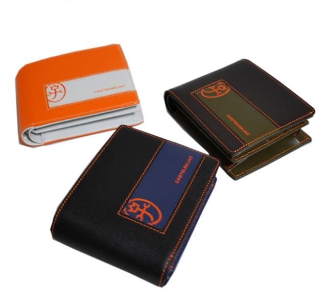 【送料・代引き手数料無料】 CASTELBAJAC カステルバジャック ポムシリーズ ブック型 二つ折り財布 54604
