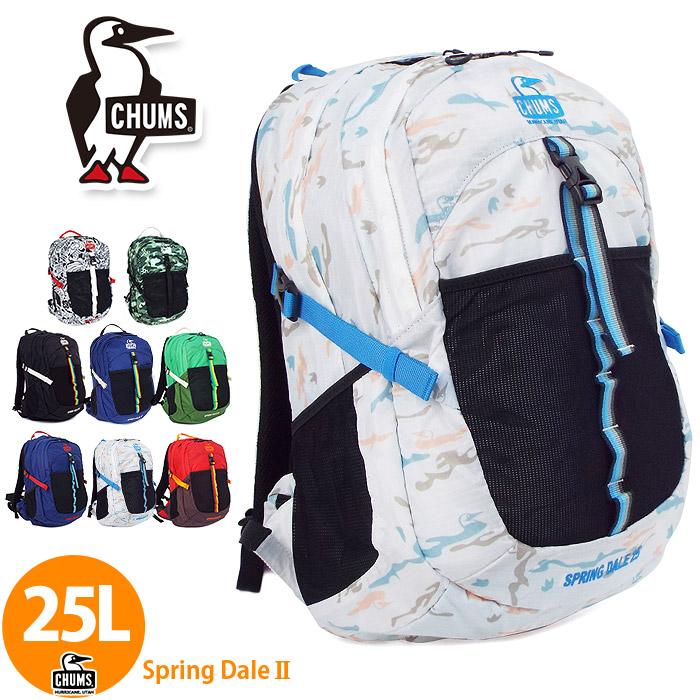 CHUMS チャムス リュック 25L ch60-2216 大容量 メンズ レディース 登山 送料無料
