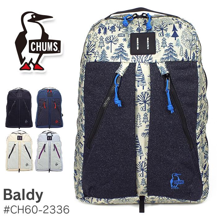チャムス リュック 23L CHUMS baldy ch60-2336 メンズ レディース 通学