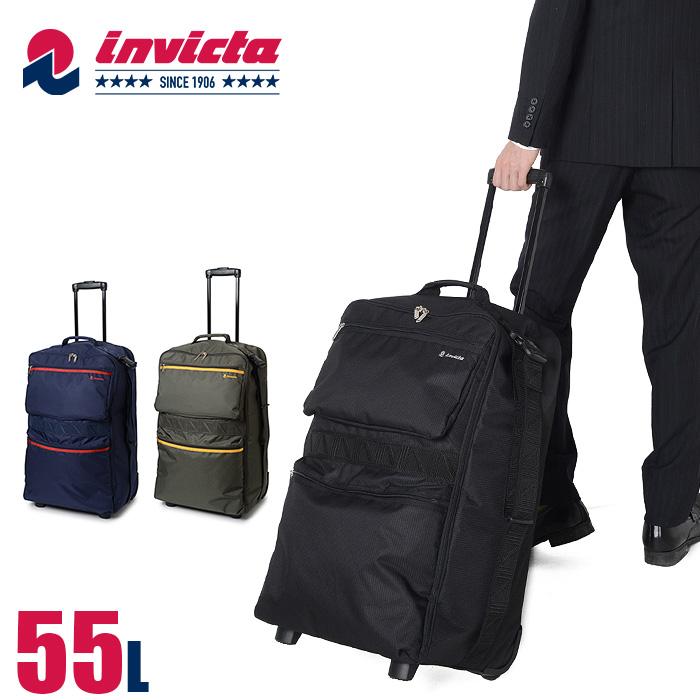 インビクタ invicta 2WAY ボストンキャリー マットーネ 55L 1-51344