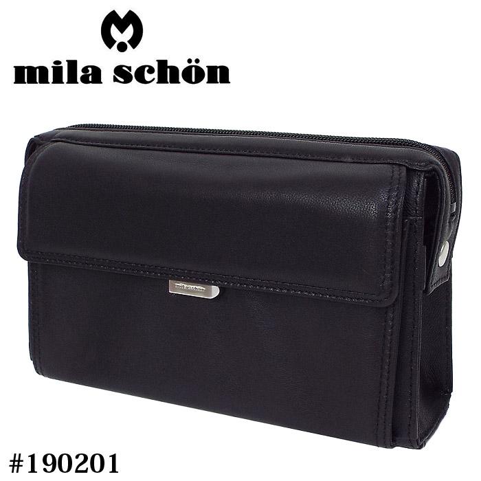 ミラショーン セカンドバッグ 190201 メンズ 男性 日本製 革