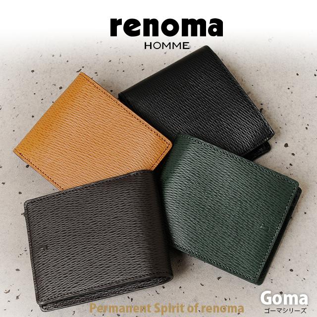renoma HOMME[레노마옴]반접기 지갑 Goma 505604