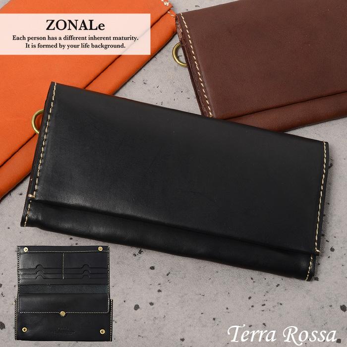 ゾナール テラロッサ 長財布 ZONALe 31045 メンズ 財布 革 イタリアンレザー あす楽対応 父の日ギフト