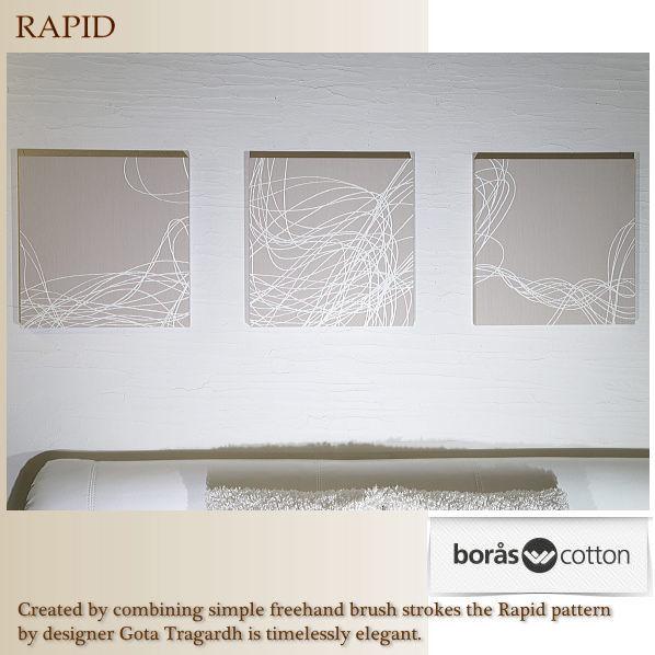 boras RAPIDファブリックパネル40×40×2.5cm3setベージュ復刻版限定品ボロスコットンインテリアパネル/ラピッド 軽量厚型設計