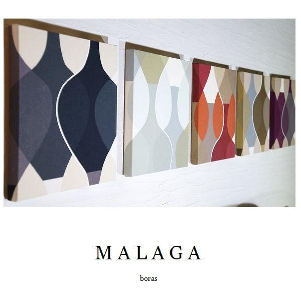 ファブリックパネル アリス boras MALAGA 30×30cm 5枚セット 5カラー レッド ブラウン ブラック パープル 黄緑 ボラス マラガ インテリア リビング 人気 おすすめ シンプルインテリア 大迫力