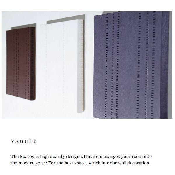 ファブリックパネル アリス VAGLY 30×30cm 3枚セット ブラウン ホワイト グレー 幾何学 おしゃれ シンプル リビング 店舗