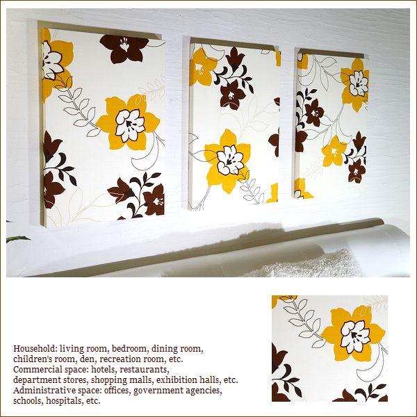 【送料無料】 ファブリックパネル アリス adorno MITE 厚型/軽量/頑丈 60×40×3cm 3枚組 インテリア 特大 画像のレイアウト 店舗 カフェ