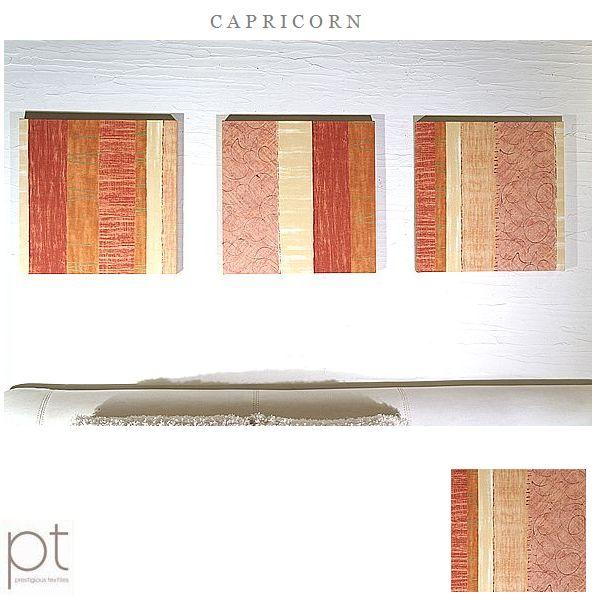 PT CAPRICORN 40×40cm 3枚組 オレンジ 薄オレンジ 北欧 おしゃれ シンプル リビング ダイニング 店舗