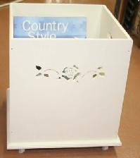 ■ばらの家具 お気に入りの収納家具もやっぱり 新品 薔薇 フロアボックス アリスの時間 今季も再入荷 オープンタイプ