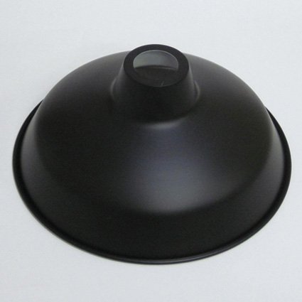 ■JO088 ホーロー ランプシェード リビング キッチン アンティーク照明 配照型セード305 照明 アリスの時間 激安通販 JO088 絶品 ブラック 46径 シェードのみ