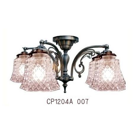 ■ 【即納 サンヨウ アンティーク照明 4灯 シャンデリア アンティーク照明】CP1204A 007 (4灯シーリングランプ) 【アリスの時間】★