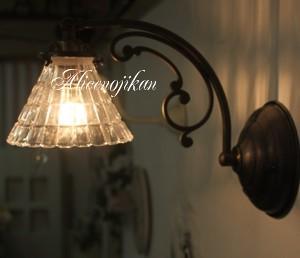 ■【アンティーク 照明】 【送料無料】【LED電球対応】FC-W10A318ウォールランプ 【アリスの時間】★