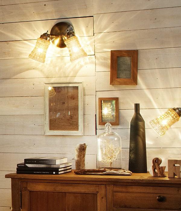 ■【在庫限りポイント12倍】 Amaretto-wall lamp2 (アマレットウォールランプ)【照明器具 リモコン ペンダント 北欧 シーリング シーリングライト スタンド アンティーク 雑貨 インテリア】 【アリスの時間】★
