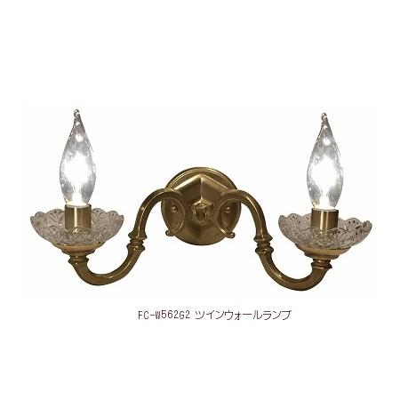 ■【アンティーク照明】ブラケット シャンデリア ツインキャンドル アンティークゴールド 【アリスの時間】★ブラケットライト アンティーク レトロ LED ウォールランプ