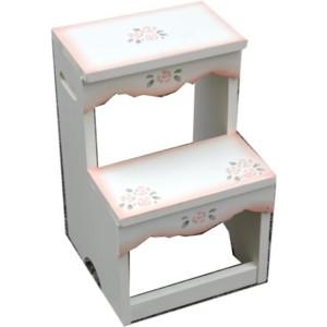 NEW ■ ばらの家具 お気に入りの収納家具もやっぱり 薔薇 踏み台 激安通販 アリスの時間 トアローズ