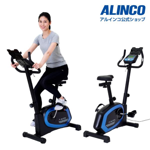 新品・未開封品フィットネスバイク アルインコ直営店 ALINCO基本送料無料 AFB6319 プログラムバイク6319エアロマグネティックバイク スピンバイク バイク ダイエット健康器具