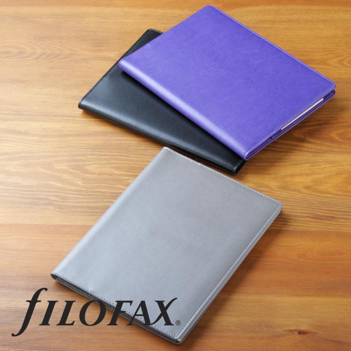 FILO 팩스 노트 커버 A5사이즈 메모 커버 스무스 Smooth 커버 Flex by filofax