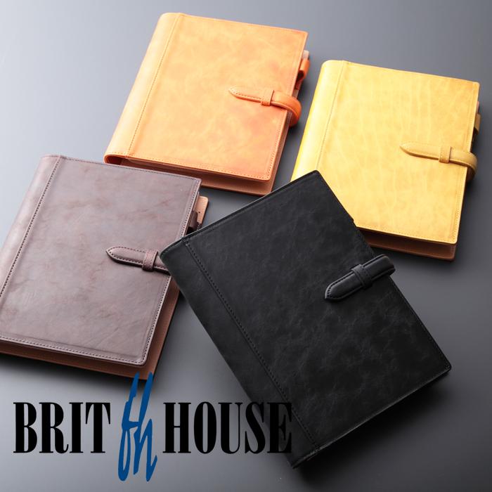 ブリットハウス 手帳カバー ノートカバー ダンテホース a5 ホースプルアップレザー  ブリットハウス brit house HTH-1109