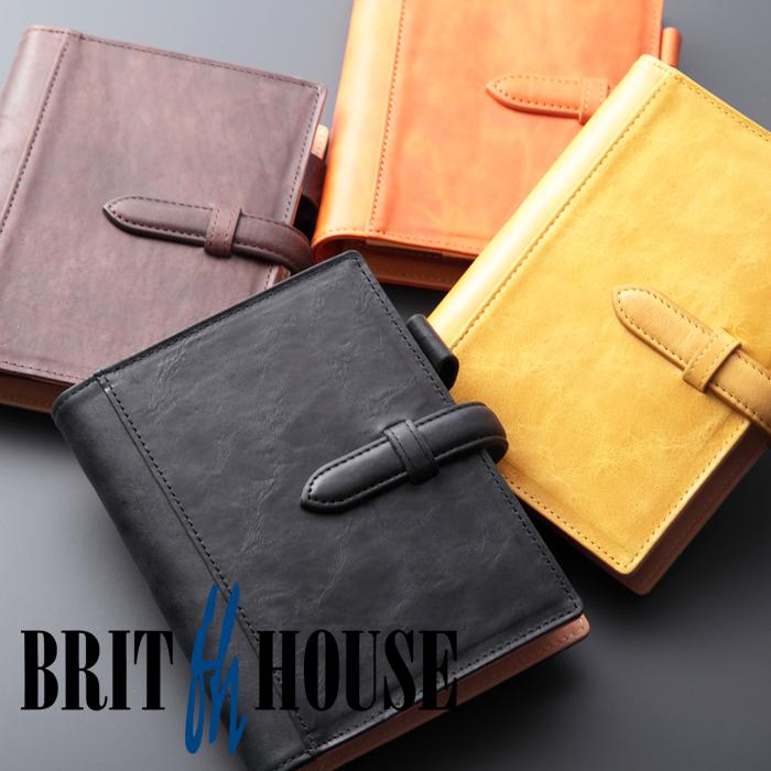 ブリットハウス 手帳カバー ノートカバー ダンテホース A6 ホースプルアップレザー  brit house HTH-1110 本革 レザー
