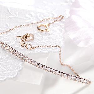 K18PG 0.5ct ダイヤモンド ブレスレットダイヤブレス ゴールドブレスレット K18ゴールド 18金 レディース ピンクゴールド 代引手数料無料 送料無料 品質保証書 ジュエリー ギフト プレゼント ご褒美 スマイルブレスレット