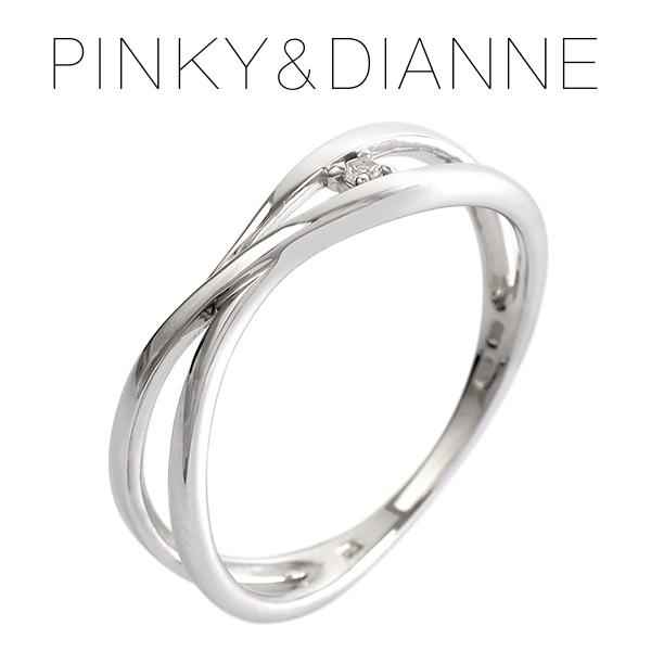 ピンキー&ダイアン ホワイトトパーズ キャンドル ホワイトゴールド リング 6~16号 K10 ゴールドリング 指輪 10金 レディース 天然石 トパーズ ホワイト 女性 プレゼント 記念日 誕生日 ブランド 人気 彼女 かわいい おしゃれ