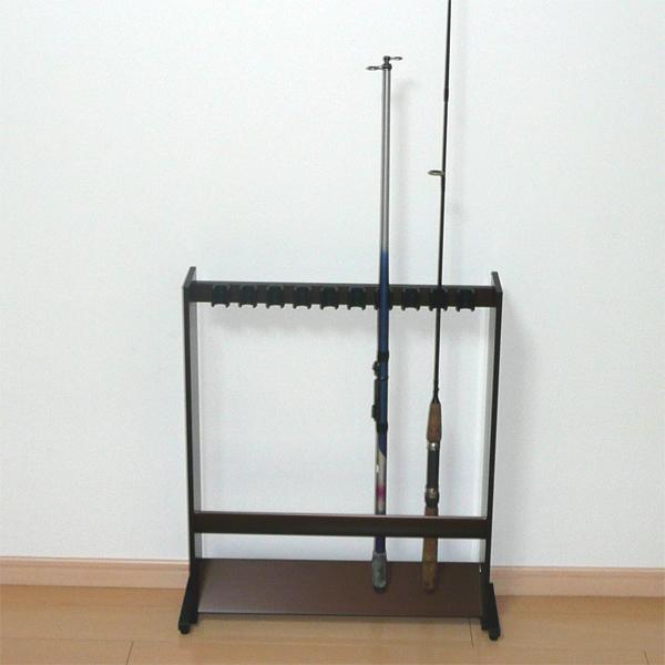 アルミ製ロッドスタンド 5本立【送料無料】