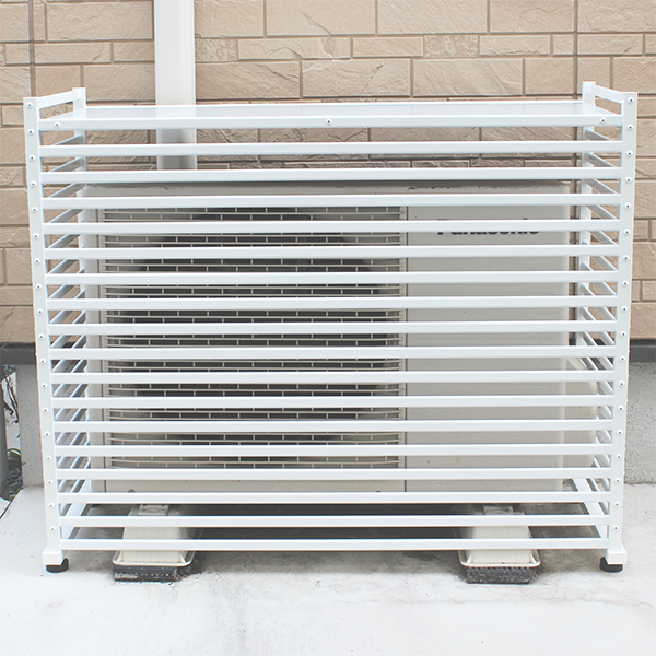 アルミ製エアコン室外機カバー 3型 小【送料無料】