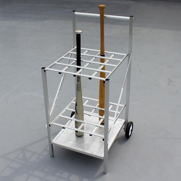 アルミ製バットスタンド(折り畳み式)【送料無料】