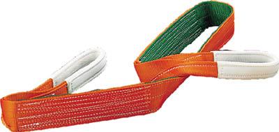 TRUSCO ベルトスリング JIS3等級 両端アイ形 100mmX10.0m【物流保管用品】【吊りクランプ・吊りベルト】【ベルトスリング】