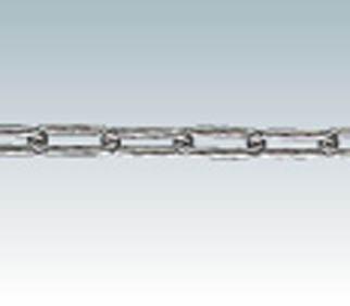 TRUSCO ステンレスカットチェーン 4.0mmX15m【生産加工用品】【建築金物・工場用間仕切り】【チェーン】