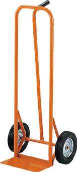 TRUSCO スチールパイプ製二輪運搬車 H1060 すくい板150X306【物流保管用品】【運搬台車】【二輪運搬車】