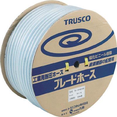 TRUSCO ブレードホース 12X18mm 100m【環境安全用品】【ホース・散水用品】【ホース】