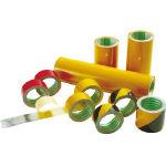 エル日昌 粗面反射テープ 100mmx10m 黄/黒【環境安全用品】【テープ用品】【安全表示テープ】