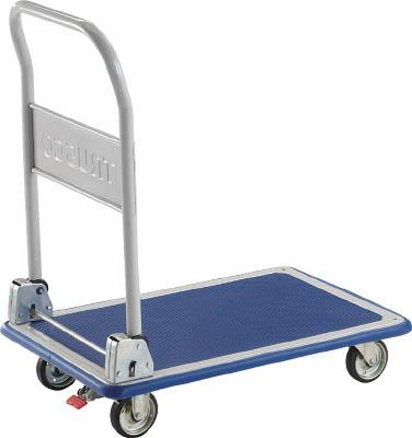 TRUSCO ドンキーカート 折りたたみ式810×510 S付【物流保管用品】【運搬台車】【プレス製運搬車】