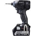 日立 18Vコードレスインパクトドライバ 黒【作業用品】【電動工具・油圧工具】【インパクトドライバー】