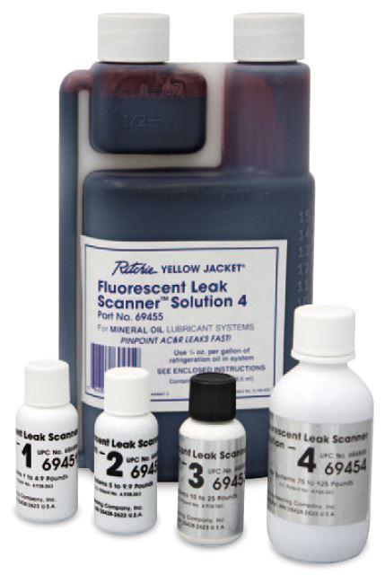 冷凍機油別蛍光剤 60ml ボトルタイプ 鉱物油用 4